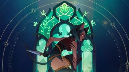 剑与远征猫女卡兹篇:绿裔联盟前排刺客 要么直接倒 要么一站到底