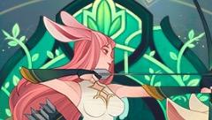 剑与远征小鹿莱卡篇:除了开场BUFF 还有降防 经常跟着蛮血一起玩
