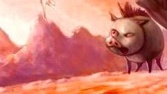 魔兽世界怀旧服:国外主播新玩法 打野猪到60级 也就一万来只吧