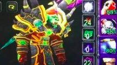 魔兽世界怀旧服:术士坦打双子简单,但要放弃一些东西,比如血量